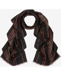 Bally - Cashmere-silk Stripe Scarf - Lyst