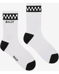 Bally - Short Vita-parcours Socks - Lyst