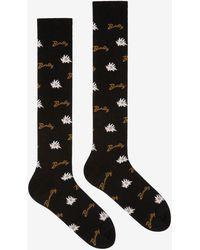 Bally - Long Edelweiss Socks - Lyst