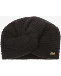Bally - Knotted Beanie Hat - Lyst