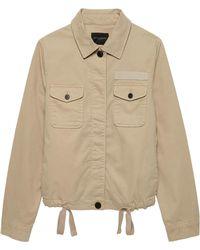 45febbf8b903f Banana Republic Camo Utility Shirt Jacket in Green - Lyst