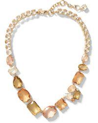 Banana Republic - Blush Gemstone Necklace - Lyst