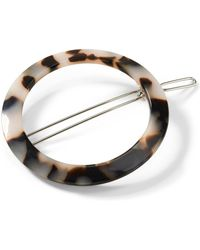 Banana Republic - Round Hair Barrette - Lyst