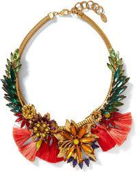Banana Republic - Elizabeth Cole | Tropical Necklace - Lyst