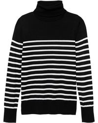 fedf4d967 Lyst - Banana Republic Washable Merino Wool Turtleneck Sweater in Blue