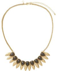 Banana Republic Factory - Petal And Stone Statement Necklace - Lyst
