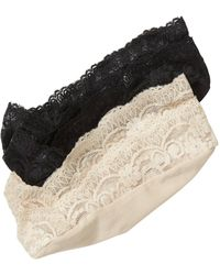 Banana Republic Factory - Lace No-show Sock (2-pack) - Lyst
