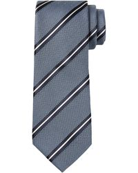Banana Republic Factory - Anti-stain Blue Stripe Tie - Lyst
