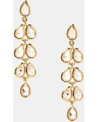 Banana Republic Factory - Chandelier Clear Drop Earring - Lyst