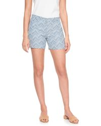 Banana Republic Factory - Tailored Chevron Jacquard Short - Lyst