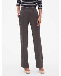 Banana Republic Factory - Logan Pintuck Pull On Trouser Pant - Lyst