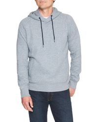 Banana Republic Factory - Quilted Pullover Hoodie - Lyst