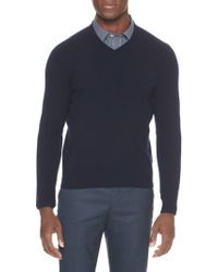 Banana Republic Factory - 100% Cashmere V-neck Pullover - Lyst