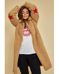 Zoe Karssen - Faux Fur Teddy Coat - Lyst