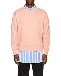 Acne Studios - Fairview Emoji Cotton Sweatshirt - Lyst