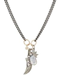 Feathered Soul - Star Totem Charm Necklace - Lyst