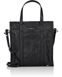 Balenciaga - Arena Leather Bazar Small Shopper Tote Bag - Lyst