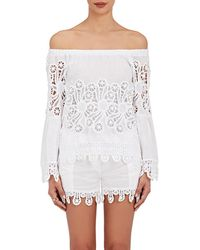 Temptation Positano - Lorita Lace-trimmed End-on - Lyst