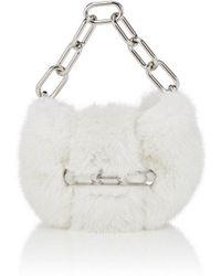Alexander Wang - Micro Mini Mink Fur Clutch - Lyst