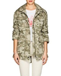 ATM - Camouflage Cotton Field Jacket - Lyst