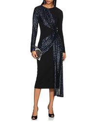 Prabal Gurung - Sequined Crepe Twist-front Dress - Lyst