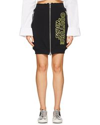 Moschino - couture Wars Cotton Miniskirt - Lyst