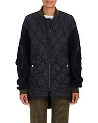 Tim Coppens | Quilted Oversized Bomber Coat | Lyst