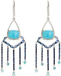 Sharon Khazzam - Shirley Drop Earrings - Lyst
