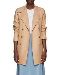 The Row - Zora Wool-cashmere Double-breasted Jacket - Lyst