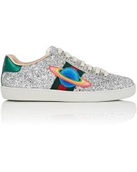 Gucci - New Ace Glitter Sneakers - Lyst