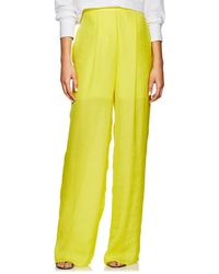 Juan Carlos Obando - Washed Satin Wide-leg Trousers - Lyst