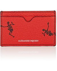 Alexander McQueen - Leather Card Case - Lyst
