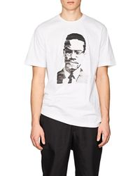 OAMC - Malcolm X Cotton Jersey T - Lyst
