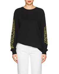 Moschino - couture Wars Cotton Long-sleeve T-shirt - Lyst