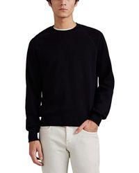 Brioni - Fine-gauge Cotton-cashmere Raglan Sweatshirt - Lyst