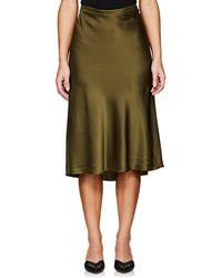 Nili Lotan - Ara Silk Charmeuse Skirt - Lyst