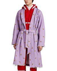 Undercover - Astronaut-print Cotton Twill Robe Coat - Lyst