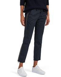 Nili Lotan - East Hampton Cotton Trousers - Lyst