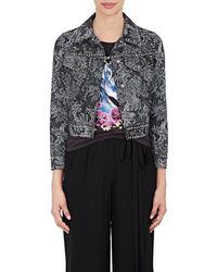 Marc Jacobs - Embellished Floral Denim Jacket - Lyst