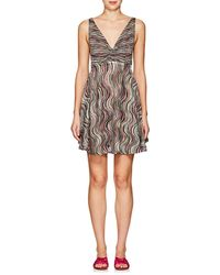Missoni - Sleeveless Babydoll Dress - Lyst