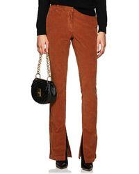 A.L.C. - Cotton Corduroy Trousers - Lyst