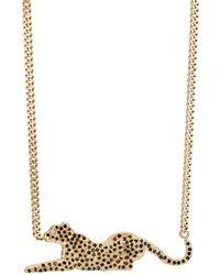 Bianca Pratt - Panther Charm Necklace - Lyst