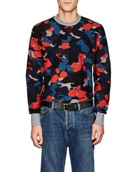 PS by Paul Smith - Camouflage Cotton Terry Sweatshirt - Lyst
