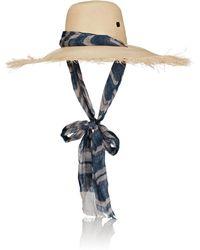 Filù Hats - Bali Fascia Straw - Lyst