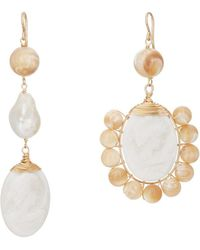 Beck Jewels - Helene Drop Earrings - Lyst