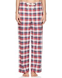The Sleep Shirt - Plaid Cotton Flannel Pyjama Trousers - Lyst
