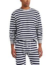 Sleepy Jones - Keith Striped Cotton Pajama Top - Lyst