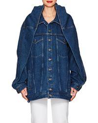 Y. Project - Oversized Denim Jacket - Lyst