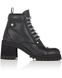 Miu Miu - Leather Ankle Boots - Lyst
