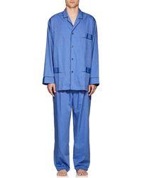 Barneys New York - End-on-end Cotton Pyjama Set - Lyst